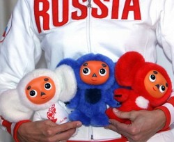 Картинки по запросу Чебурашка стал талисманом Олимпийской сборной России.