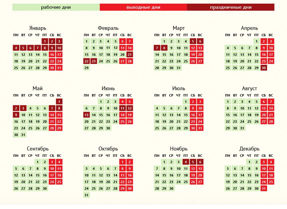 Перенос выходных дней в 2012 году постановление